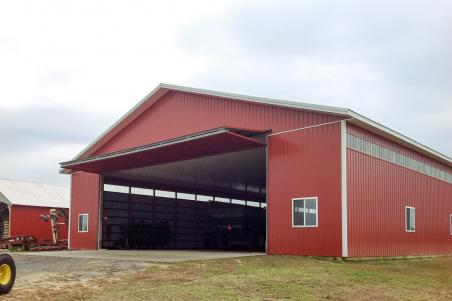 Byler Builders builds many types of ag buildings.
