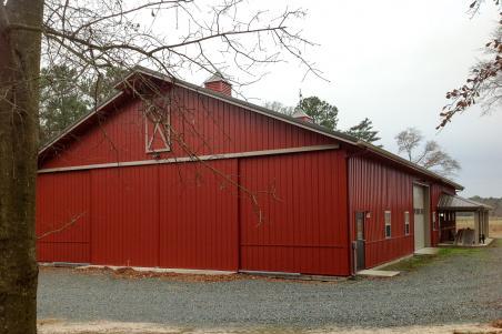 Residential post-frame buildings by Byler Builders