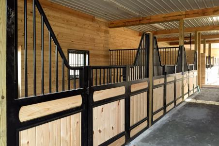 Byler Builders builds many types of equine buildings.